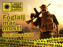 Lasergame lasertag lézerharc - Laserpark Budapest